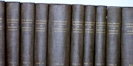 The Oxford English Dictionary celebrates its 90th Birthday