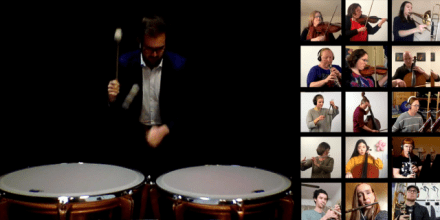 ANU and CSO Virtual Orchestra perform Offenbach's Can Can