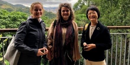 Katrina Grant and Terhi Nurmikko-Fuller give talks at National Chenching University