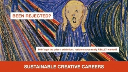 Resilience: how to get over the rejection letters and stay in the game | Sustainable Creative Careers