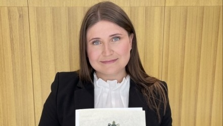 Recent graduate: Emma Henke