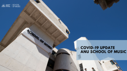 School of Music transitions to virtual learning (COVID-19 precautions)