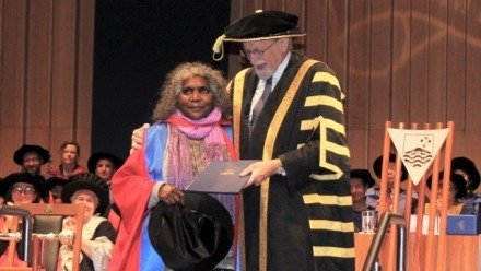 Ms Elizabeth Ellis Receives Honorary Doctorate