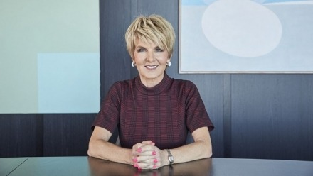 The Hon. Julie Bishop named as incoming Chancellor of ANU