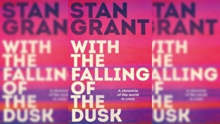 Book cover 'With the Falling of the Dusk' by Stan Grant