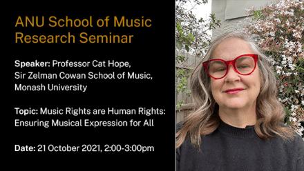 Research Seminar - Cat Hope